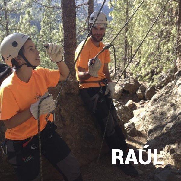 Experiencia de escalada en Gran Canaria con Raúl